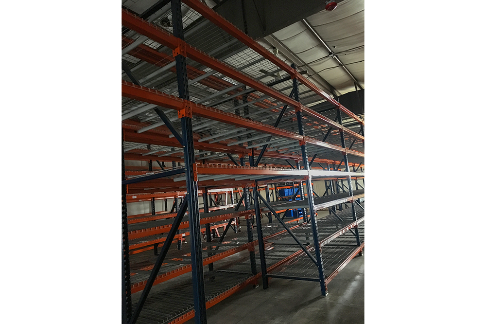 Used Racking System liquidationg now in Johnston, Rhode Island