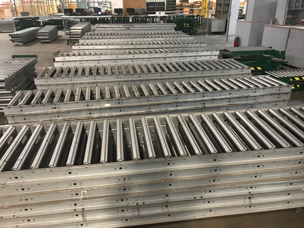 Gravity Conveyor Beds from an Alabama facility
