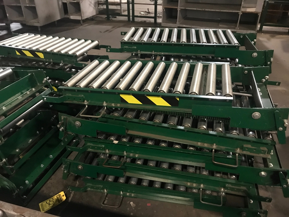 Gravity Conveyor Beds from a liquidation in Alabama