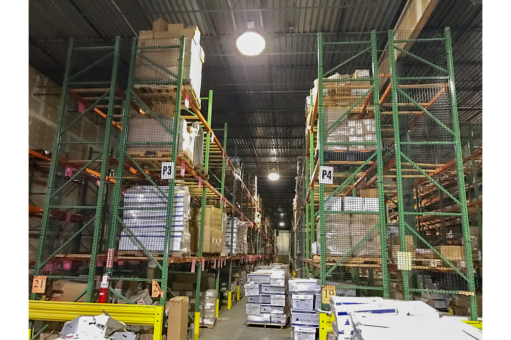 Used Pallet Racking Liquidation out of Springfield, Virginia