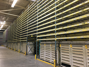 Used Pallet Racking and Used 10 Drawer Stanley Vidmar Tool Cabinets available out of Webster, New York