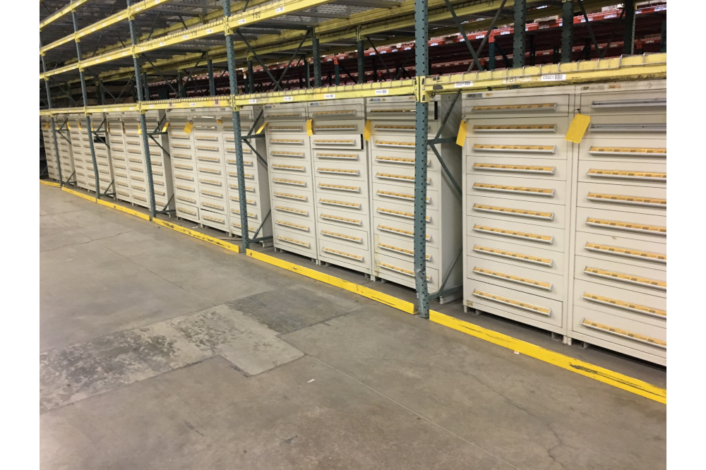 Used 10 Drawer Stanley Vidmar Tool Cabinets in Webster, New York