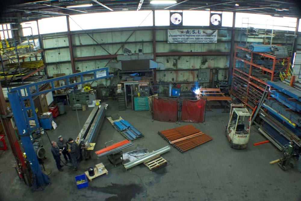 aerial view fabrication shop 2
