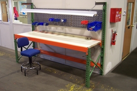 Used Pallet Rack Workbenches