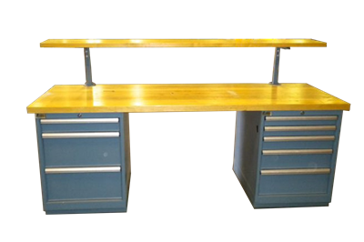 Used Butcher Block Workbenches