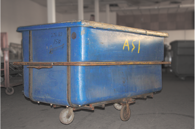 Used Plastic Utility Hoppers