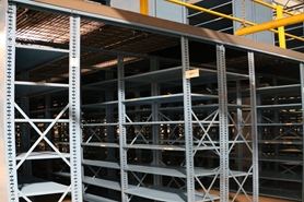 Used Shelf Supported Mezzanines