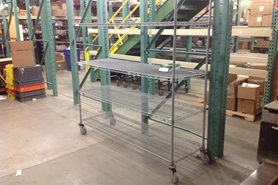 Used Wire Shelving