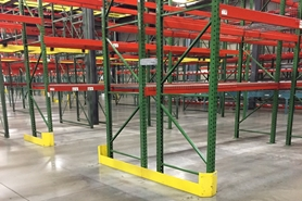 Used Pallet Rack End Of Aisle Guard