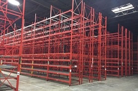 Used Structural Pallet Racking