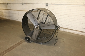 Used Industrial Barrel Fans