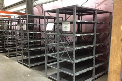 Used Wood Deck Shelving