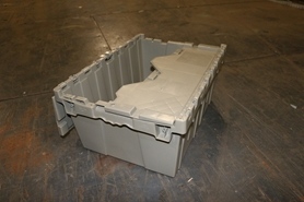 Used Finger Lid Totes