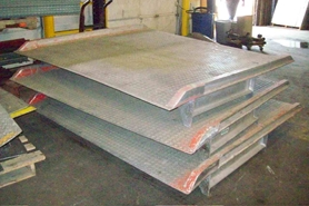 Used Rail Dock Boards