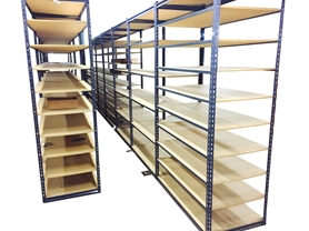 Used Rivet Rack Shelving