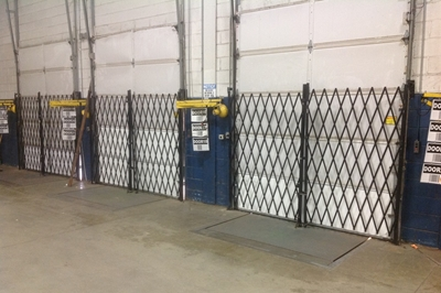 Used Folding Security Gates