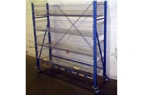 Used Basket Cart