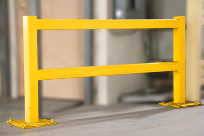 Used Warehouse Guard Rail