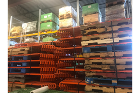 Used Pallet Rack Stop Bars