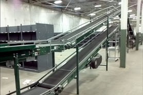 Used Incline Conveyor