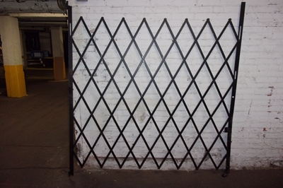 Used Folding Security Gates - Left Hinged