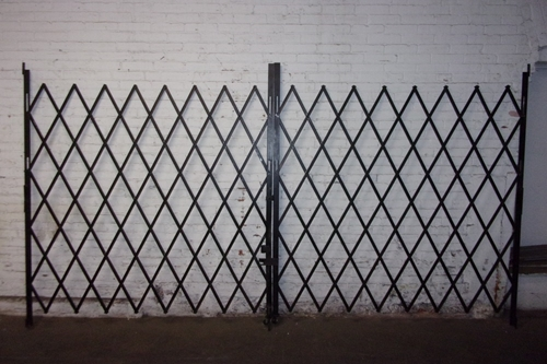 Used Folding Security Gates - Left & Right