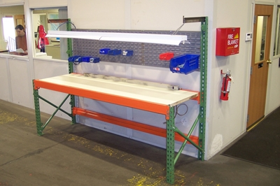 Used ASI Pallet Rack Workbenches