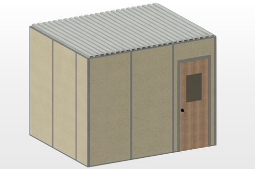 12'x10' New Modular Office
