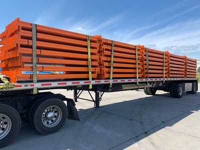 "Used Teardrop Beams - 102"" x 2 1/2"""