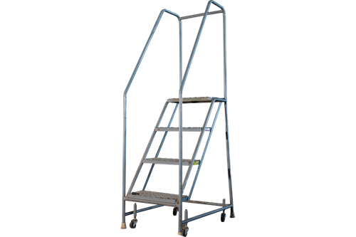 Used Tri-Arc 4 Step Rolling Ladders