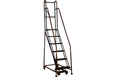 6-Step Cotterman Rolling Ladder