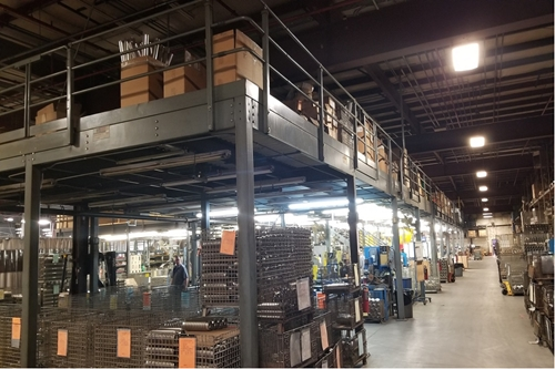 Used Steel Mezzanine - 5,040 Sq. Feet