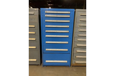 Used 9-Drawer Vidmar Cabinets