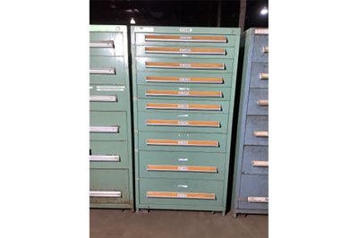 Used 10-Drawer Vidmar Cabinets