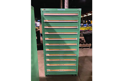 Used 11-Drawer Vidmar Cabinets