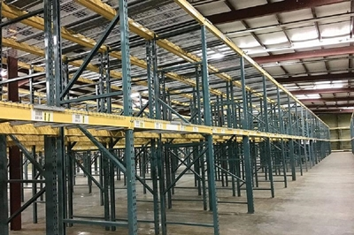 Used Unarco T-Bolt Pallet Racking