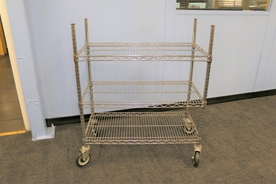 Used Wire Carts