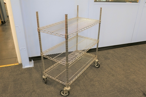 Used Wire Cart