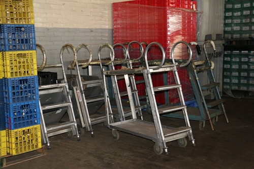 Used Ladder Cart