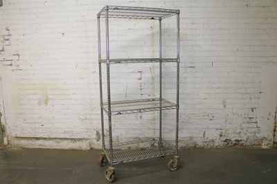 Used Metro Wire Shelving