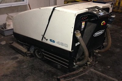 Used Tennant Floor Scrubber