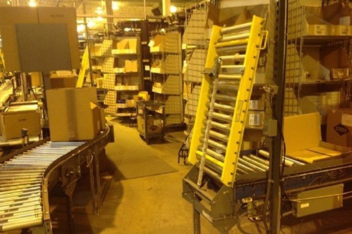Used Spring Loaded Conveyor Gates