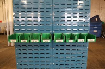 Used Storage Bins - AkroBins - 4  Wide & Used Storage Bins for Sale by American Surplus Inc.