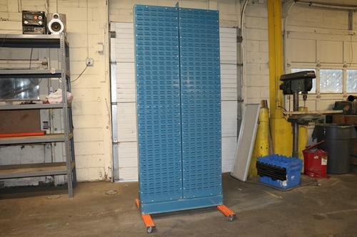 Akro-Mils Louvered Panel Carts