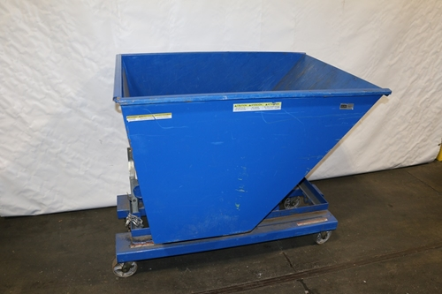 Used Steel Self Dumping Hopper
