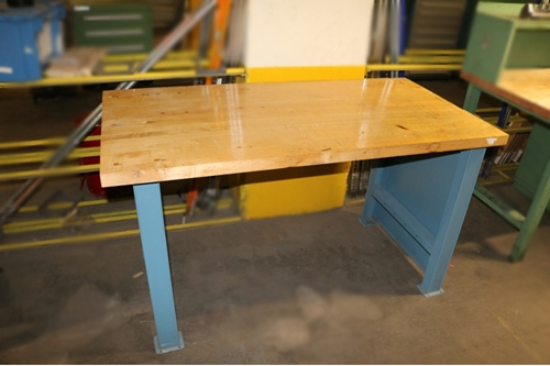 Used Butcher Block Workbench - 30
