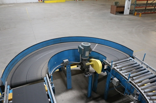 Used Powered Roller Conveyor Curves