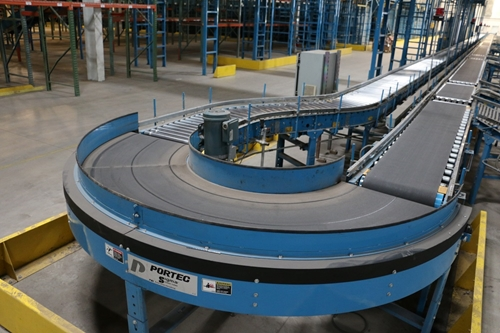 Used Portec Belt Style Conveyor Curves
