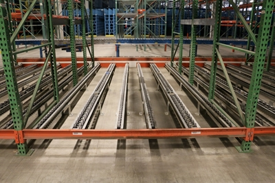 Used Pallet Flow Rack