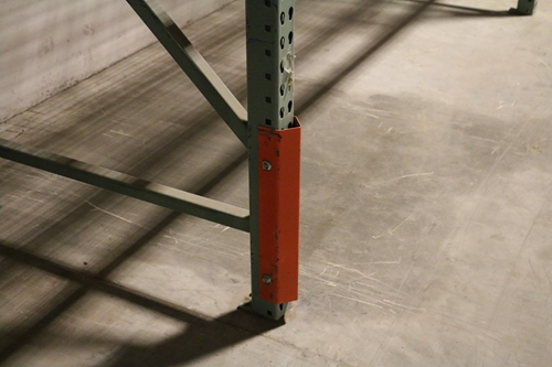 Used Pallet Rack Column Protectors